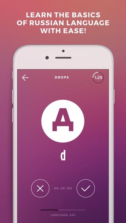 Learn Russian language - Drops screenshot-0