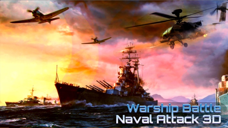 Warship Battle-Naval Attack 3D