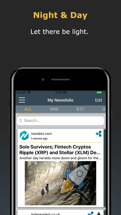 Newsfolio - Crypto News screenshot-4
