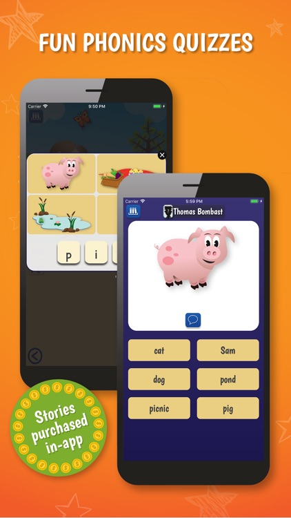 PocketPhonics (stories as IAP) screenshot-3