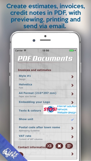 Estimates Invoices Duxfacti On The App Store - Estimates and invoices