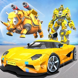 Rhino Robot War Car Transform