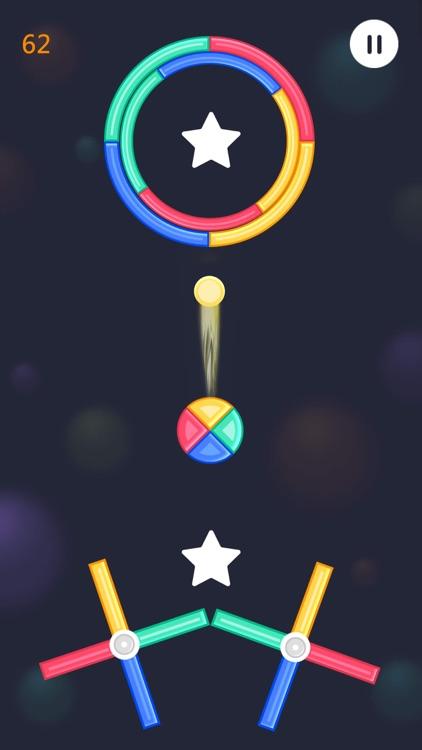 球球跳跳跳 - 欢乐小游戏 screenshot-3