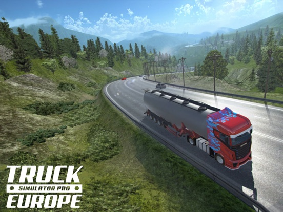 Truck Simulator PRO Europe screenshot 6