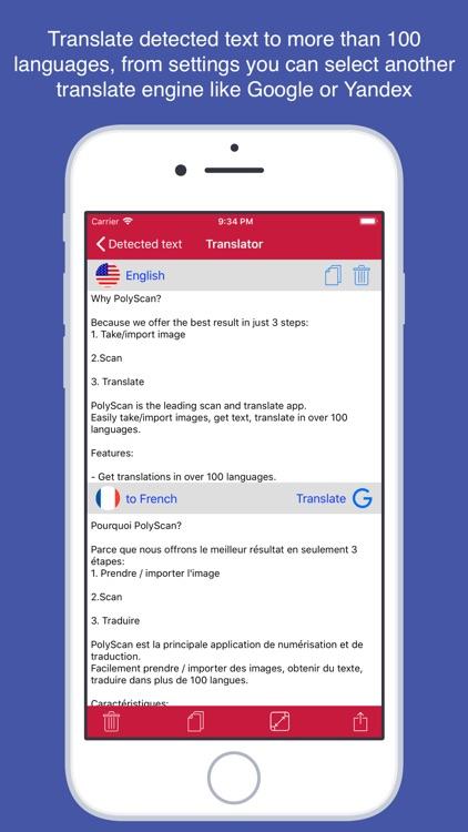 PolyScan - Snap and translate screenshot-3