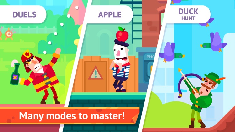 Bowmasters - Multiplayer Game screenshot-4