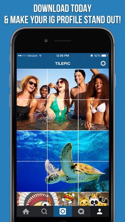 Tile Pic - Photo Banner Editor screenshot-3