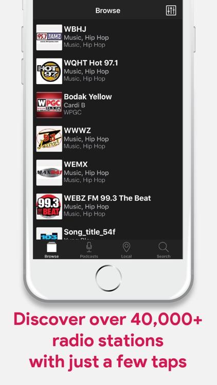 Smart Radio: AM/FM Radio App screenshot-3