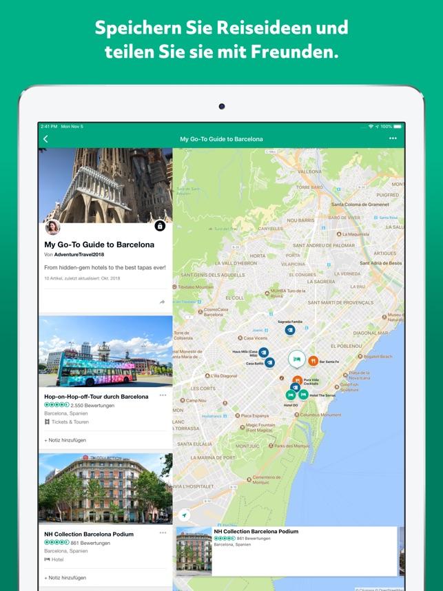 TripAdvisor Hotels Restaurants Screenshot