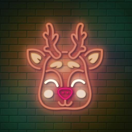 Christmas Lighten Stickers
