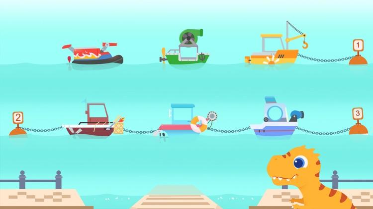 Dinosaur Patrol Boat screenshot-8