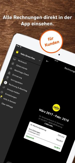 Kwhapp Strom Gas Check Im App Store