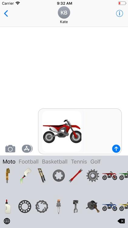 Sports Emoji Keyboard
