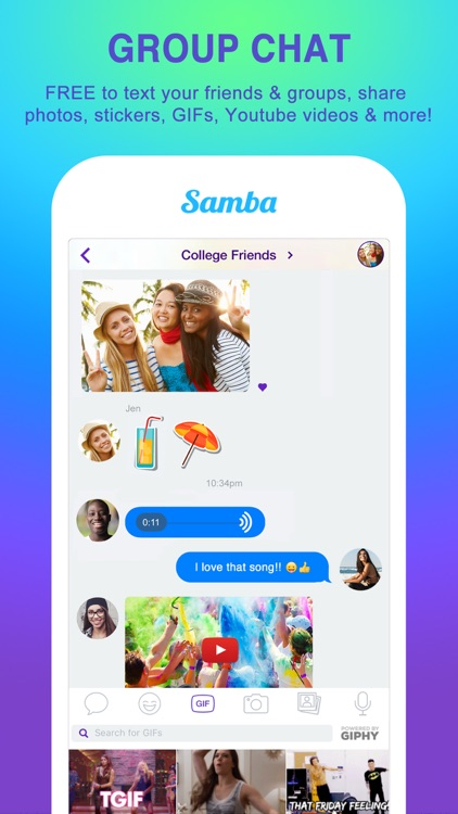 Samba Messenger screenshot-2