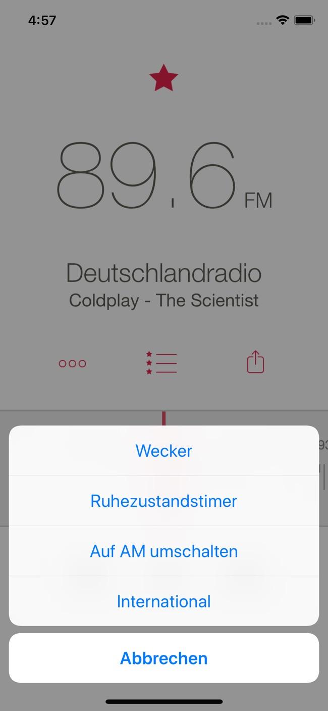 RadioApp Screenshot