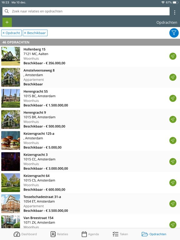 Screenshot #3 for Kolibri App voor makelaars