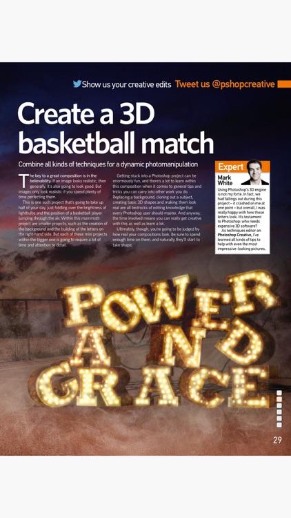 Advanced Photoshop Magazine: Professional guides screenshot-3