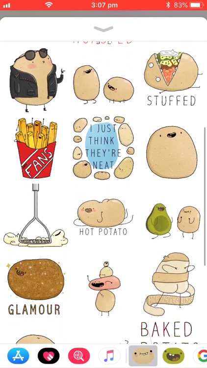 Potato Sticker Pack screenshot-2