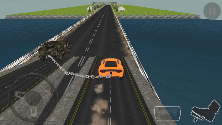 Extreme 2 Chained Car Driving screenshot-3