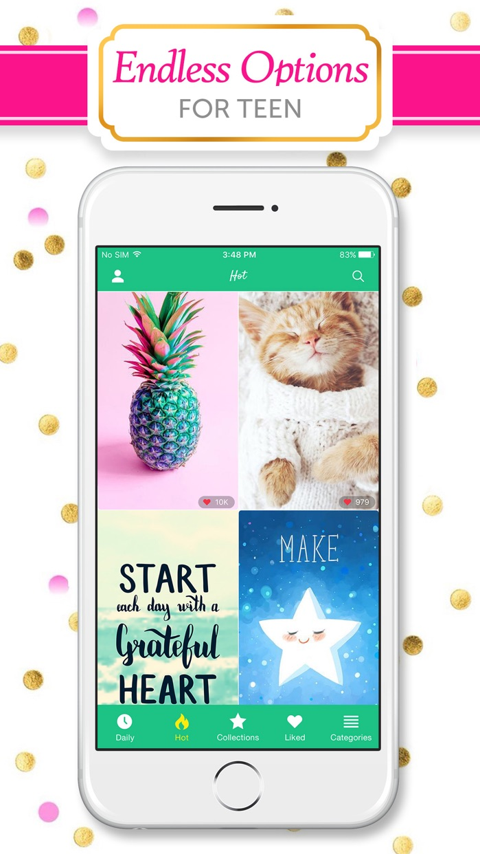 Girly Wallpapers & Backgrounds Screenshot