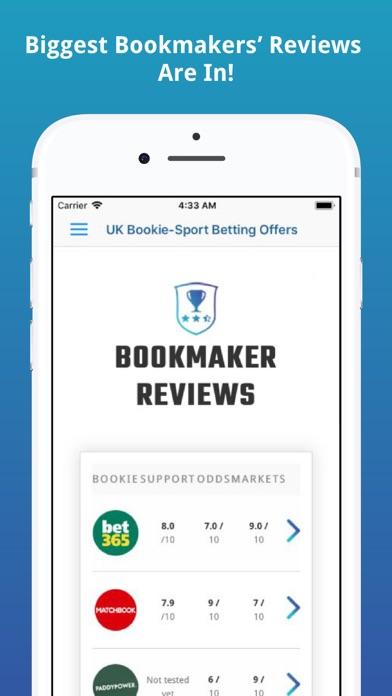 UK Bookie-Sport Betting Offers screenshot four