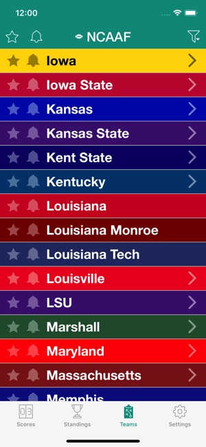 College Football Live Radio On The App Store