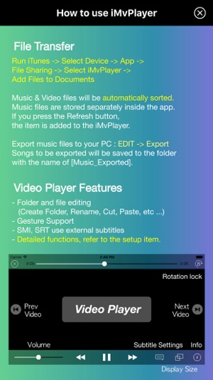Imvplayer music video on the app store iphone ipad ccuart Image collections