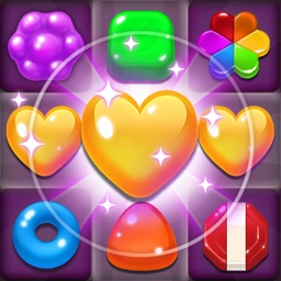 Candy Jelly POP : Match 3 Puzzle