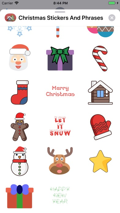Christmas Stickers And Phrases screenshot 2