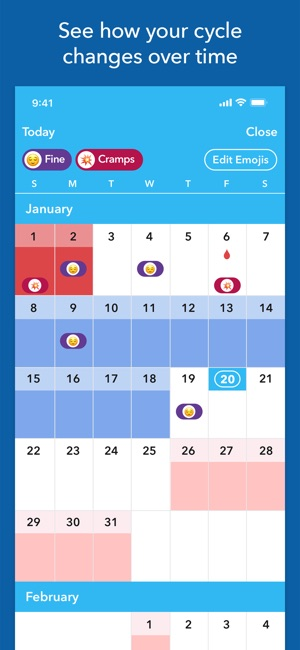 best free period tracker app iphone