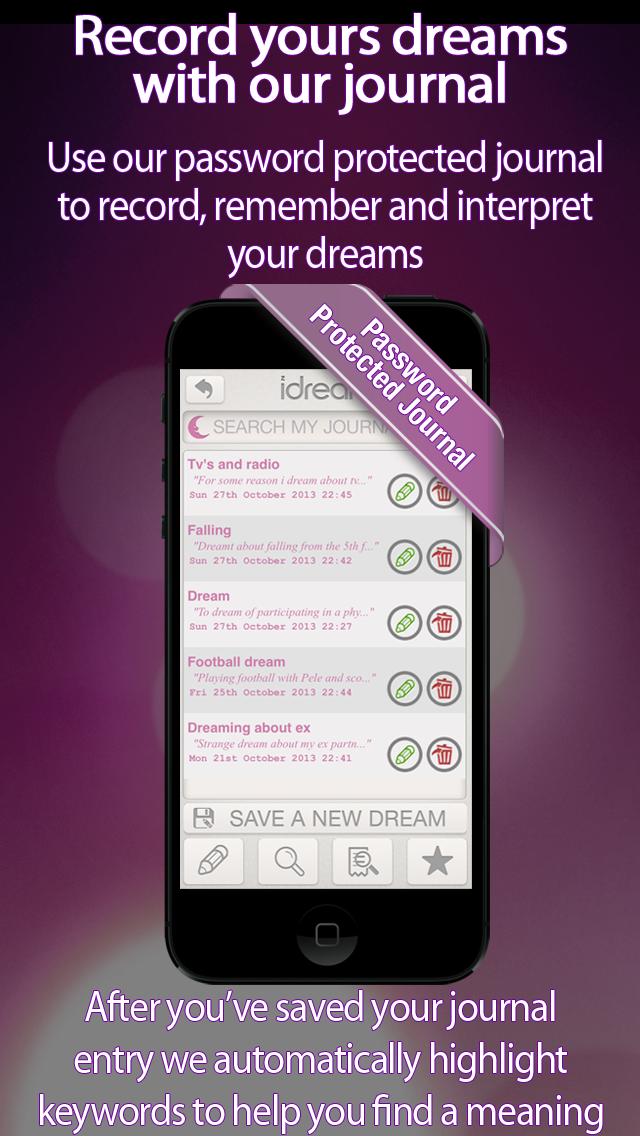 iDream - Dream Dictionary Screenshot