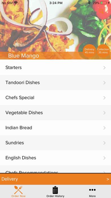 Blue Mango Taunton screenshot two