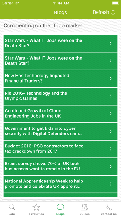 IT Jobs UK screenshot four