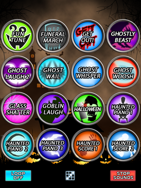 Halloween Spooky Sound Box - 96+ Sound Effects! screenshot