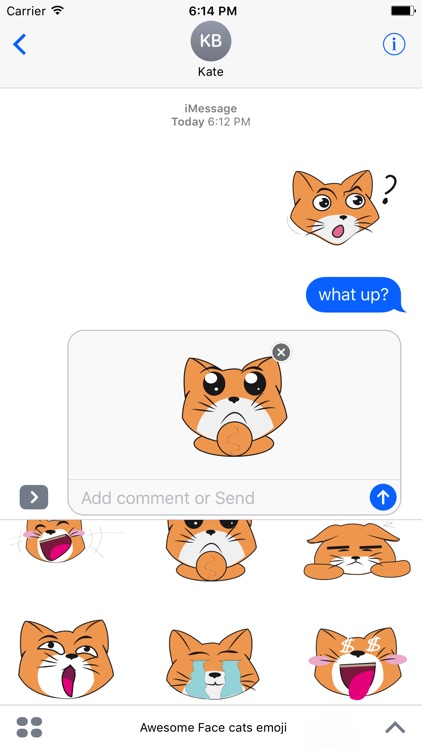 Awesome Face cats emoji