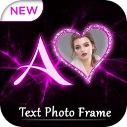 Lighting Text Photo Frame