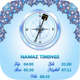 Qibla Compass:Namaz Timings