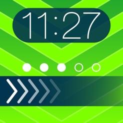 theme foundry free ez lock screen slide to unlock color dock