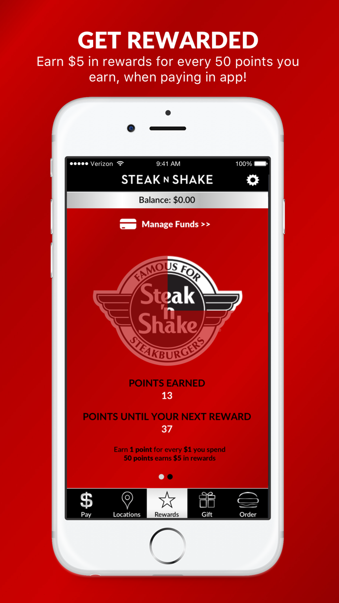 Steak 'n Shake Screenshot