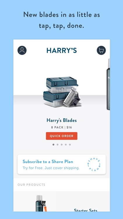 Harry's - Shaving & Grooming