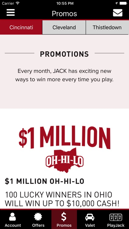 Jack casino promos offers by jack entertainment llc jack casino promos offers screenshot 3 altavistaventures Choice Image