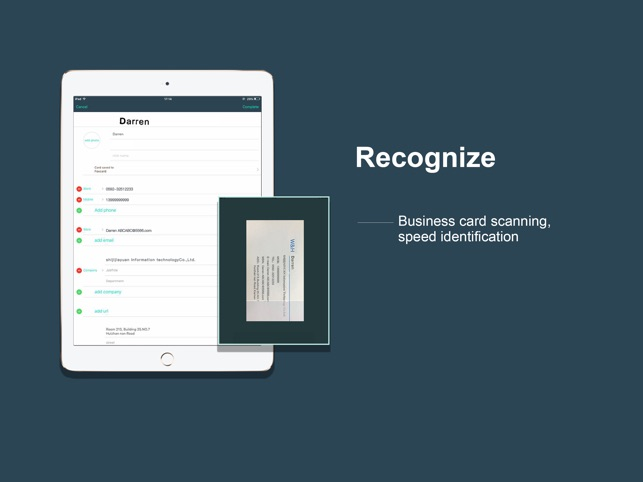 Foxcard business card scanner on the app store foxcard business card scanner on the app store reheart Image collections