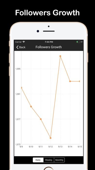Followers Plus + For Instagram for Windows