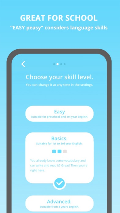 EASY peasy: English for Kids app image