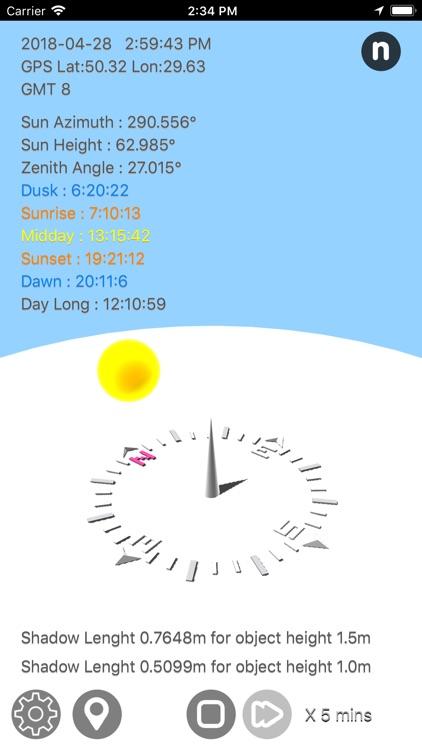 Sun Calculator screenshot-7