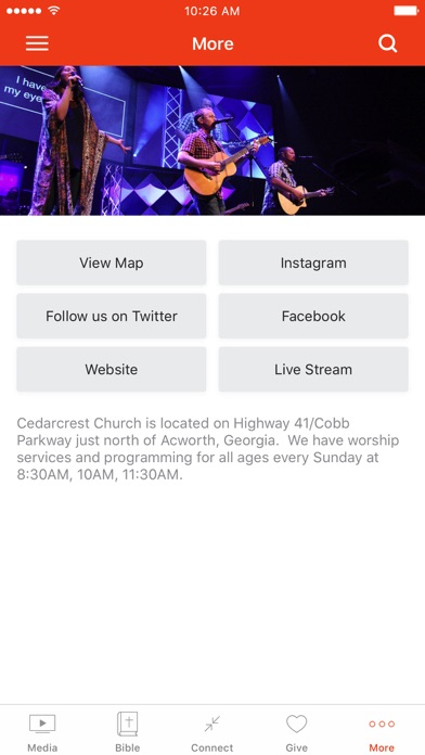 Cedarcrest Church screenshot 3