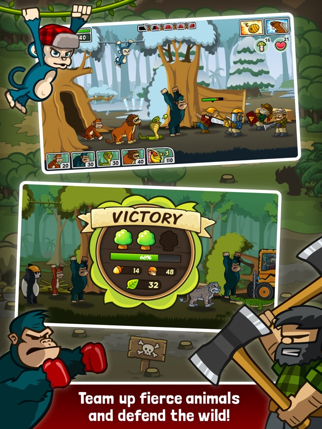 Lumberwhack: Defend the Wild Screenshot