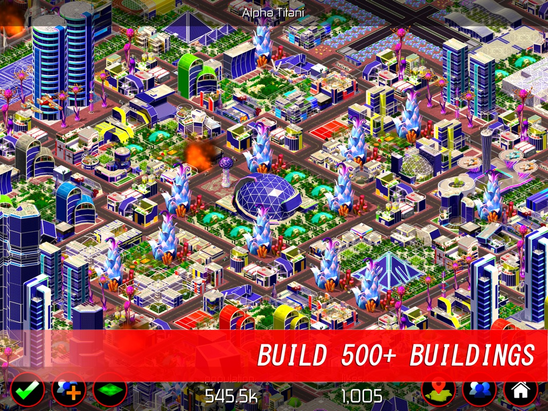 Space City: building game - Online Game Hack and Cheat