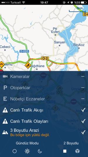 İBB Yol Gösteren Screenshot