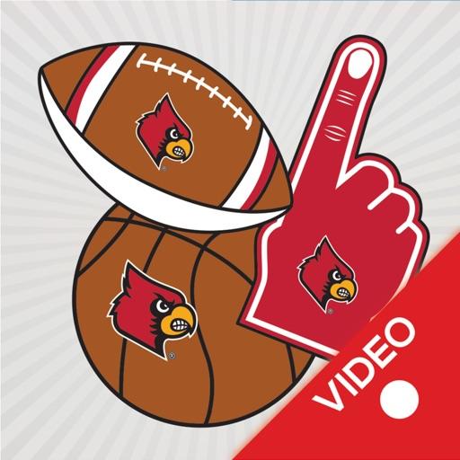 Louisville Cardinals Animated Selfie Stickers